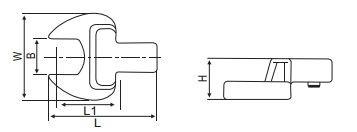 Сменная головка для динамометрического ключа.