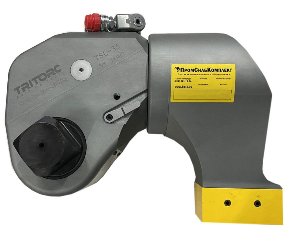 TSL-35 ключ гидравлический динамометрический торцевой Tritorc.